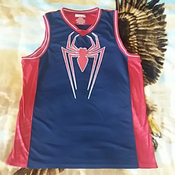 45ad70623542 Marvel Other - Marvel Spider-Man basketball jersey men s xxl